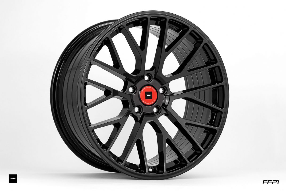 FFP1 CORSA BLACK IW EXCLUSIVE CENTRE CAPFFP SERIES - FUSIONFORGED - FFP1