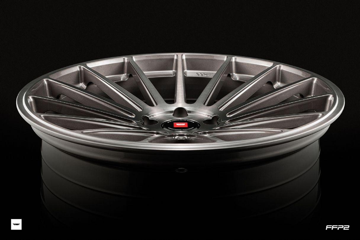 FFP2 CARBON GREY BRUSHEDFFP SERIES - FUSIONFORGED - FFP2