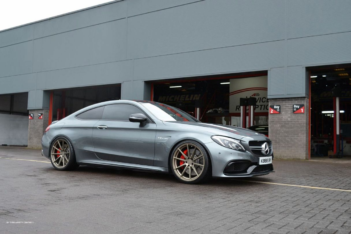 Mercedes C63 CoupeFFR SERIES - FUSIONFORGED - FFR1