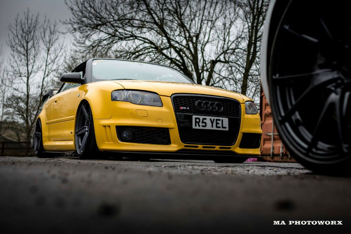 Audi RS4 Cab B7FFR SERIES - FUSIONFORGED - FFR5