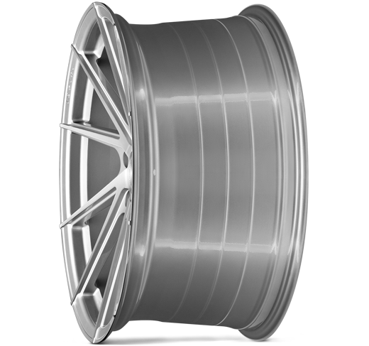 FFR1D PURE SILVER BRUSHED DEEP CONCAVE