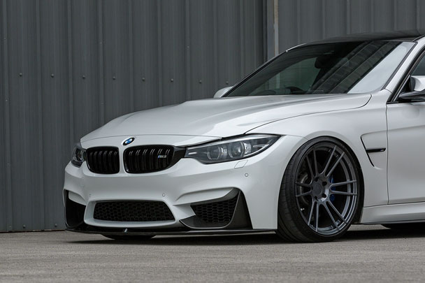 BMW F80 M3 FFR7 Carbon Graphite