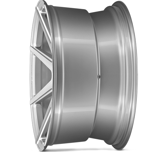 ISR8 PURE SILVER BRUSHED DEEP CONCAVE